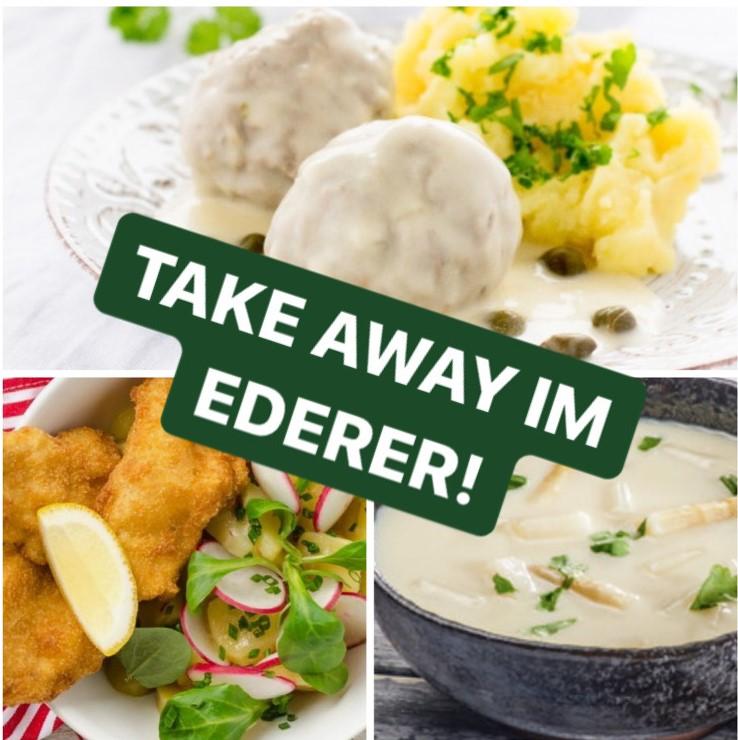 Take Away im Ederer